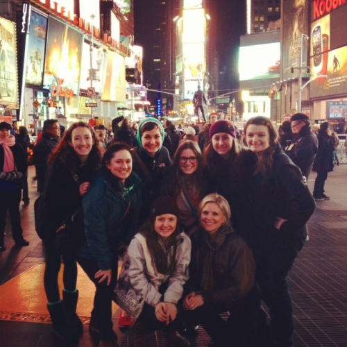 GroupShotwNancyTimesSquare