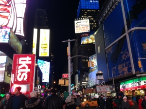 Times SquarePhoto by Kate Stringer