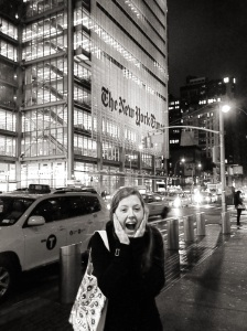 Kate Stringer A bit excited to see The New York Times during National College Media Convention in March