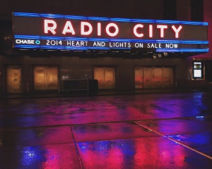 Radio City in Times Square