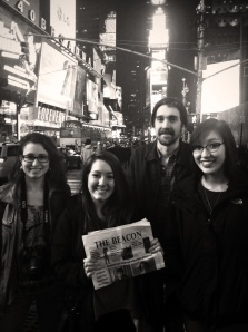 The Beacon Staff takes New York City #Wherehasyourbeaconbeen?