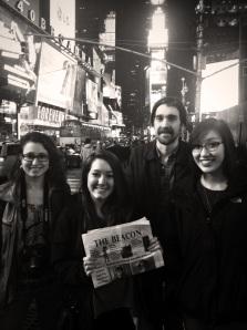 The Beacon Staff takes New York City #Wherehasyourbeaconbeen?
