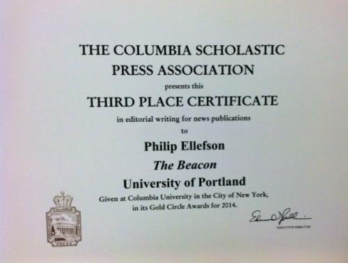 philip award
