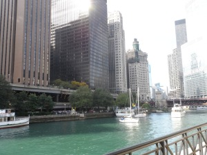 Chicago in September- ideal setting for ONA 14