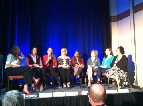 Meredith Artley, Anna Homes, Liz Heron, Ann Marie Lipinski, Susan Smith Richardson, Vivian Schiller, Callie Schweitzer, Benet Wilson