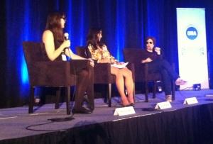 Melissa Bell, Lara Setrakian, Kara Swisher