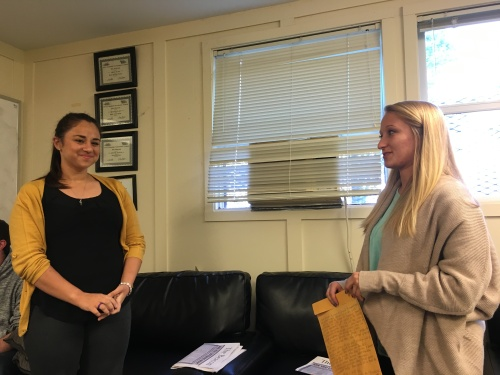 Opinions Editor Lydia Laythe welcomes Olivia Sanchez to the position for next year.