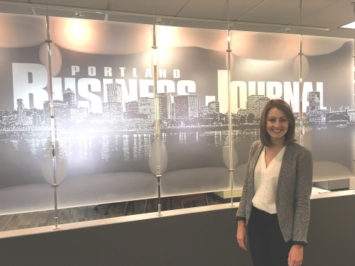 Clare at Portland Business journal