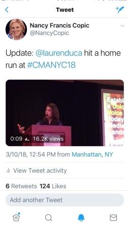 Lauren Duca tweet