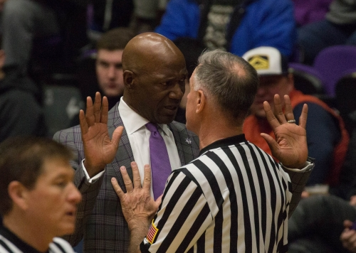 terry porter REF confrontation