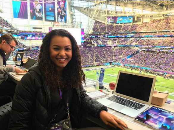 It all started at The Beacon: ESPN signs Malika Andrews | UP Beacon staff blog