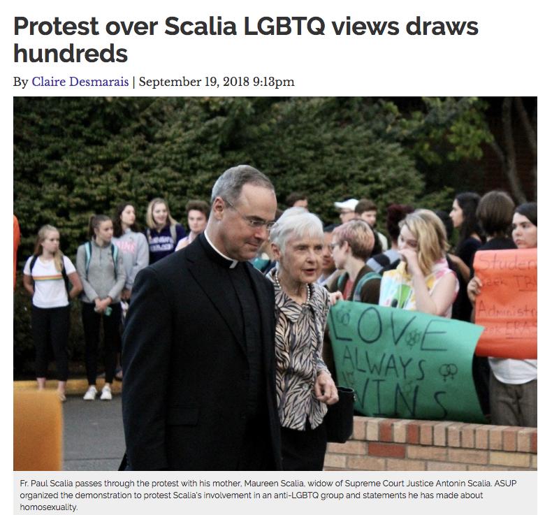 Scalia Protest screenshot