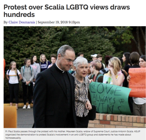 Scalia Protest screenshot
